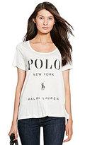Polo Ralph Lauren Graphic Scoopneck Tee