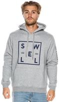 Swell Border Line Pullover Hoodie