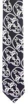 Thomas Wylde Silk Skull Print Tie