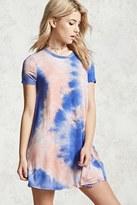 Forever 21 FOREVER 21+ Tie-Dye T-Shirt Dress