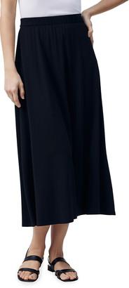 Lafayette 148 New York Guthrie Luxe Charmeuse Skirt