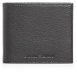 Giorgio Armani Emporio Vitello Bottalato Leather Bi-Fold Wallet