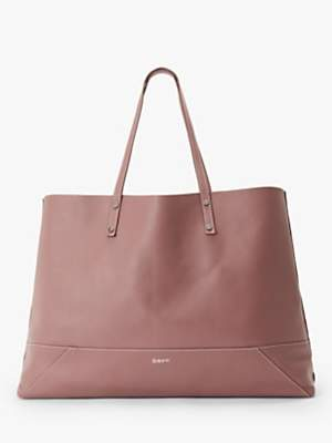 DAY et Shine Leather Shopper Bag, Metallic Pink