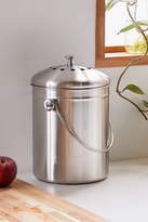 Urban Outfitters Stainless Steel Compost Bin