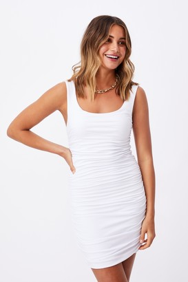 Supre Avah Ruched Mini Dress