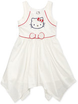 Hello Kitty Graphic-Print Handkerchief Dress, Toddler and Little Girls (2T-6X)