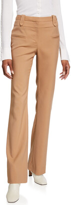 Altuzarra High-Rise Flare Leg Pants