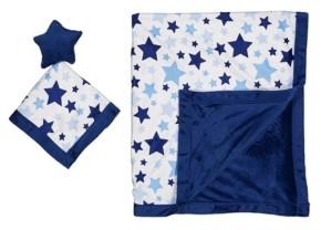 Jesse & Lulu Jesse Lulu Baby Boys and Girls 2-Piece Blanket and Toy Security Blanket Set