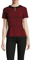 Marc by Marc Jacobs Floral Print Peplum Top