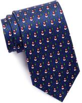 Tailorbyrd Xmas Silk Tie
