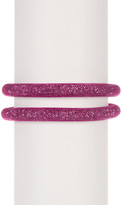 Swarovski Stardust Crystal Double Bracelet - Size Small
