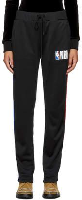 Marcelo Burlon County of Milan Black NBA Edition Track Pants