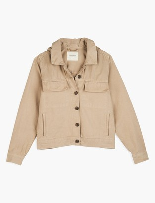 Light Weight Canvas Utility Jacket