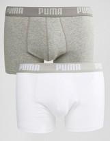 Puma 2 Pack Trunks In Stretch Cotton