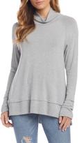 Karen Kane Raglan Sleeve Turtleneck Sweater