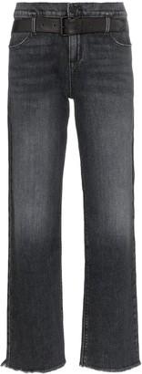 RtA Dexter belted denim jeans