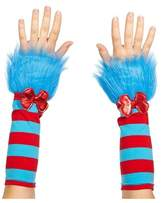 Dr. Seuss Adult Cat in the Hat Thing 1 And Thing 2 Fuzzy Glovettes