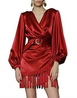 Bronx & Banco Carmen Fringe Mini Dress