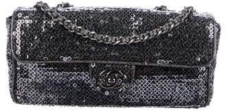 Chanel E/W Sequined Flap Bag