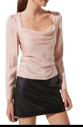 ASTR the Label Back Cutout Top