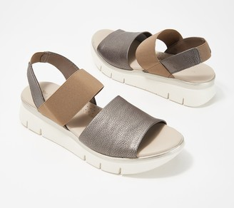 The Flexx Leather Back-Strap Sandals - Cushy
