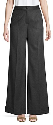 Dolce & Gabbana Cashmere Wide-Leg Trousers