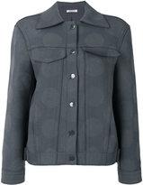Nina Ricci tonal dots boxy jacket - women - Lambs Wool - 36