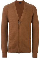 Lanvin zip detail knit cardigan