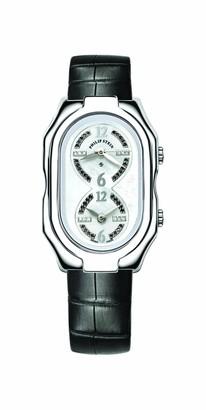 Philip Stein Teslar 11-ldw ABLadies WatchAnalogue QuartzMother of Pearl Dial Black Leather Strap