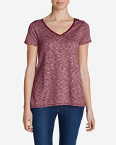Eddie Bauer Women's Lake Serene Short-Sleeve Top