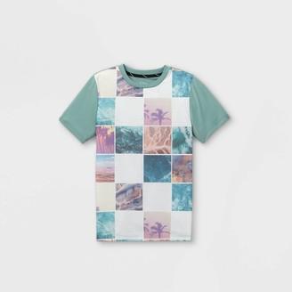 Boys' Photo Collage Graphic Short Sleeve T-Shirt - art classTM