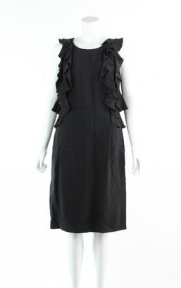 Mulberry Black Viscose Dresses