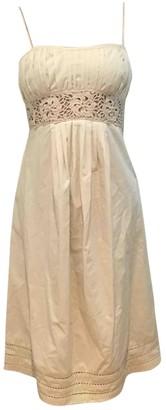 Stella Forest Ecru Cotton Dress for Women