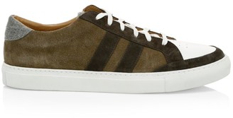 Eleventy Suede & Leather Sneakers