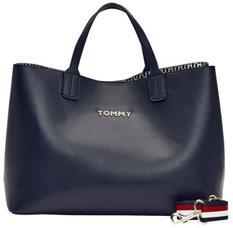 Tommy Hilfiger AW0AW08512CJM Iconic Tommy Double Handle Satchel