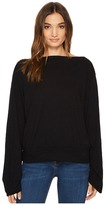 Heather Mimi Cotton Slub Slouchy Sleeve Top Women's Clothing