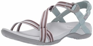 Teva Women's W SIRRA Sandal SPILI Grey Mist 6 Medium US