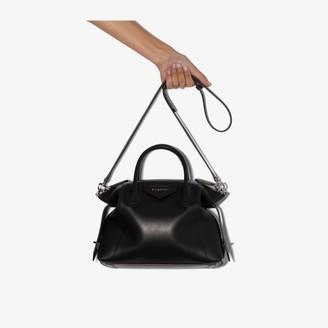Givenchy black Antigona soft small leather tote bag