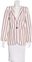 Etoile Isabel Marant Striped Long Sleeve Blazer