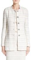 St. John Women's Samar Knit Tweed Jacket