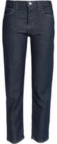 Current/Elliott The Original High-Rise Straight-Leg Jeans