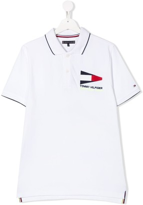 Tommy Hilfiger Junior TEEN logo polo shirt