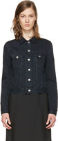 Acne Studios Black Denim Top Jacket