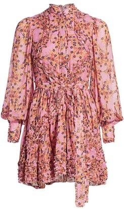 Alexis Karina Floral Dress