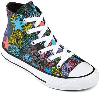 Converse Mosaic Tile Print Little/Big Kid Girls Lace-up Sneakers