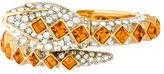 Kenneth Jay Lane Crystal Snake Bracelet