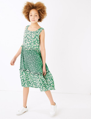 Marks and Spencer Floral Dress (6-16 Yrs)