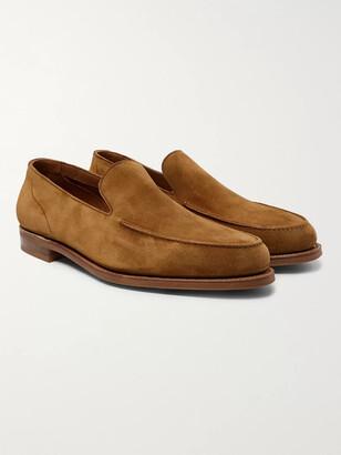 Edward Green Islington Suede Loafers