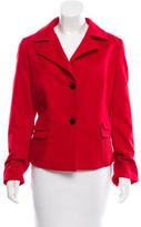 Akris Punto Wool Notch-Collar Jacket