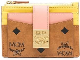 MCM Patricia colour-block leather wallet